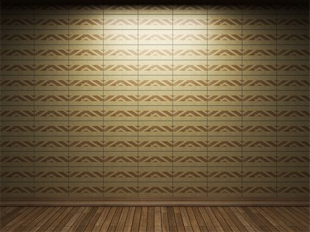simsearch:400-05245734,k - illuminated tile wall made in 3D graphics Stock Photo - Budget Royalty-Free & Subscription, Code: 400-04679912
