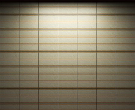 simsearch:400-05245734,k - illuminated tile wall made in 3D graphics Stock Photo - Budget Royalty-Free & Subscription, Code: 400-04679913