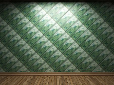 simsearch:400-05245734,k - illuminated tile wall made in 3D graphics Stock Photo - Budget Royalty-Free & Subscription, Code: 400-04679924