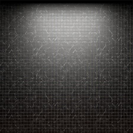 simsearch:400-05245734,k - illuminated tile wall made in 3D graphics Stock Photo - Budget Royalty-Free & Subscription, Code: 400-04679925