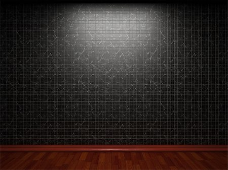 simsearch:400-05245734,k - illuminated tile wall made in 3D graphics Stock Photo - Budget Royalty-Free & Subscription, Code: 400-04679926