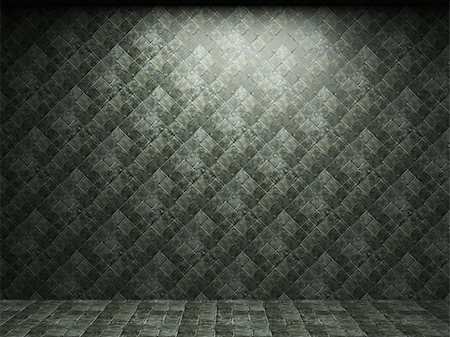 simsearch:400-05245734,k - illuminated tile wall made in 3D graphics Stock Photo - Budget Royalty-Free & Subscription, Code: 400-04679927