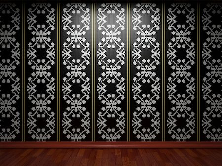 simsearch:400-05245734,k - illuminated tile wall made in 3D graphics Stock Photo - Budget Royalty-Free & Subscription, Code: 400-04679934