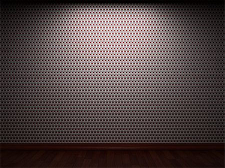 simsearch:400-05245734,k - illuminated tile wall made in 3D graphics Stock Photo - Budget Royalty-Free & Subscription, Code: 400-04679935