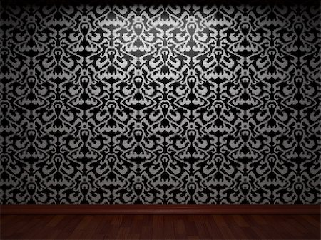 simsearch:400-05245734,k - illuminated tile wall made in 3D graphics Stock Photo - Budget Royalty-Free & Subscription, Code: 400-04679938
