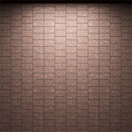 simsearch:400-05245734,k - illuminated tile wall made in 3D graphics Stock Photo - Budget Royalty-Free & Subscription, Code: 400-04679939