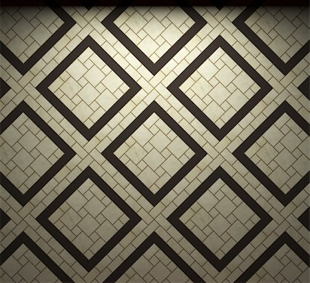 simsearch:400-05245734,k - illuminated tile wall made in 3D graphics Stock Photo - Budget Royalty-Free & Subscription, Code: 400-04679944