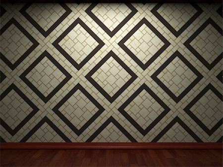 simsearch:400-05245734,k - illuminated tile wall made in 3D graphics Stock Photo - Budget Royalty-Free & Subscription, Code: 400-04679945