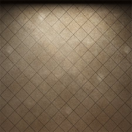 simsearch:400-05245734,k - illuminated tile wall made in 3D graphics Stock Photo - Budget Royalty-Free & Subscription, Code: 400-04679946