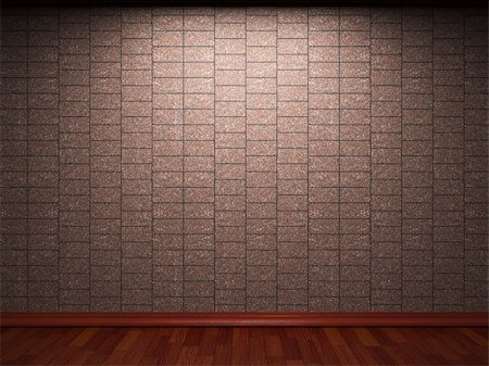 simsearch:400-05245734,k - illuminated tile wall made in 3D graphics Stock Photo - Budget Royalty-Free & Subscription, Code: 400-04679940
