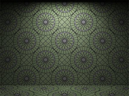 simsearch:400-05245734,k - illuminated tile wall made in 3D graphics Stock Photo - Budget Royalty-Free & Subscription, Code: 400-04679943