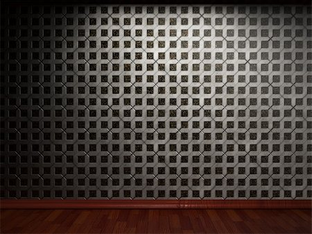 simsearch:400-05245734,k - illuminated tile wall made in 3D graphics Stock Photo - Budget Royalty-Free & Subscription, Code: 400-04679950