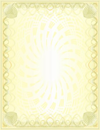 Golden blank. Solid. Vector Stock Photo - Budget Royalty-Free & Subscription, Code: 400-04684296