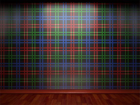 simsearch:400-05245734,k - illuminated tile wall made in 3D graphics Stock Photo - Budget Royalty-Free & Subscription, Code: 400-04681574