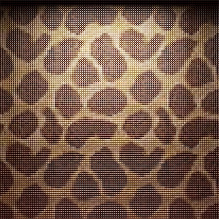 simsearch:400-05245734,k - illuminated tile wall made in 3D graphics Stock Photo - Budget Royalty-Free & Subscription, Code: 400-04681579