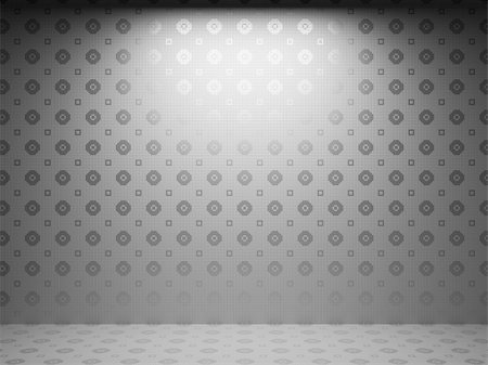 simsearch:400-05245734,k - illuminated tile wall made in 3D graphics Stock Photo - Budget Royalty-Free & Subscription, Code: 400-04681570
