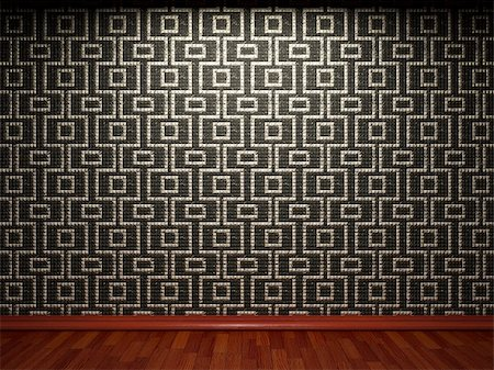 simsearch:400-05245734,k - illuminated tile wall made in 3D graphics Stock Photo - Budget Royalty-Free & Subscription, Code: 400-04681587
