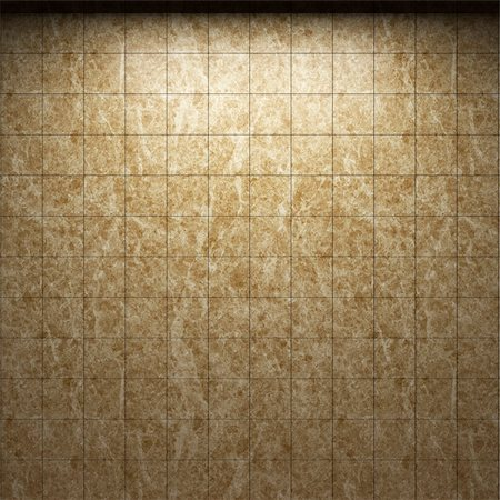 simsearch:400-05245734,k - illuminated tile wall made in 3D graphics Stock Photo - Budget Royalty-Free & Subscription, Code: 400-04681594
