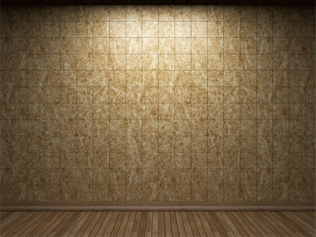 simsearch:400-05245734,k - illuminated tile wall made in 3D graphics Stock Photo - Budget Royalty-Free & Subscription, Code: 400-04681595