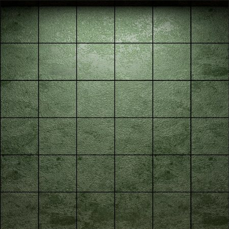 simsearch:400-05245734,k - illuminated tile wall made in 3D graphics Stock Photo - Budget Royalty-Free & Subscription, Code: 400-04681597