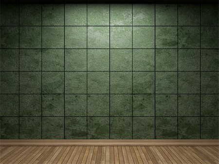 simsearch:400-05245734,k - illuminated tile wall made in 3D graphics Stock Photo - Budget Royalty-Free & Subscription, Code: 400-04681598