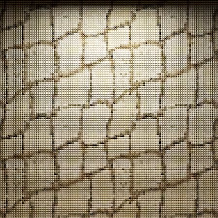 simsearch:400-05245734,k - illuminated tile wall made in 3D graphics Stock Photo - Budget Royalty-Free & Subscription, Code: 400-04681590