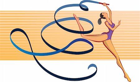 feet gymnast - gymnast Stock Photo - Budget Royalty-Free & Subscription, Code: 400-04694458