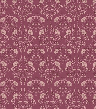 simsearch:400-05235216,k - illustration drawing of beautiful  seamless flower pattern Stock Photo - Budget Royalty-Free & Subscription, Code: 400-04699742