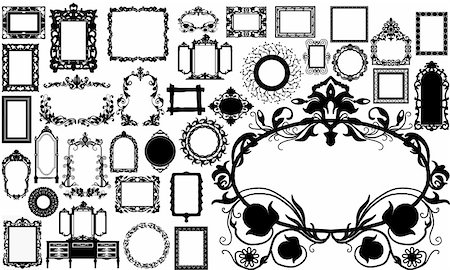 simsearch:400-04872199,k - vintage frame made in vector Stock Photo - Budget Royalty-Free & Subscription, Code: 400-04693993