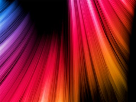 rainbow smoke background - Vector - Abstract Colorful Waves on Black Background Stock Photo - Budget Royalty-Free & Subscription, Code: 400-04709832