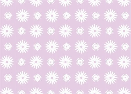simsearch:400-05235216,k - illustration drawing of beautiful white daisy flower pattern Stock Photo - Budget Royalty-Free & Subscription, Code: 400-04702110