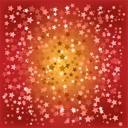 abstract christmas red stars background Stock Photo - Budget Royalty-Free & Subscription, Code: 400-04719284