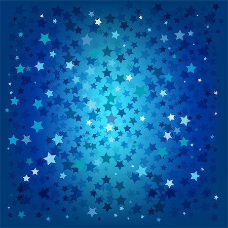 abstract christmas blue stars background Stock Photo - Budget Royalty-Free & Subscription, Code: 400-04719283
