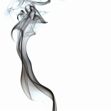 smoke magic abstract - The abstract figure of the smoke on white background Stock Photo - Budget Royalty-Free & Subscription, Code: 400-04711481