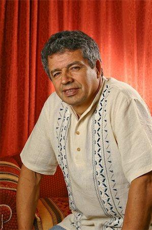 A latinamerican mature man Stock Photo - Budget Royalty-Free & Subscription, Code: 400-04712871