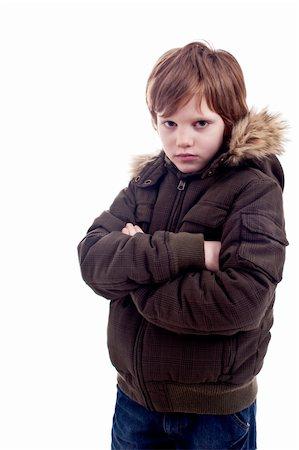 shy baby - Cute boy sad Stock Photo - Budget Royalty-Free & Subscription, Code: 400-04725588