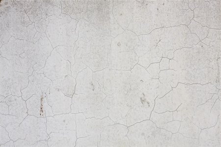 color crack of white wall Stock Photo - Budget Royalty-Free & Subscription, Code: 400-04728228