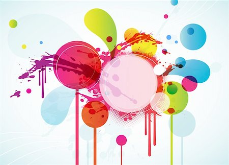 Abstract background with circles. Stock Photo - Budget Royalty-Free & Subscription, Code: 400-04728516
