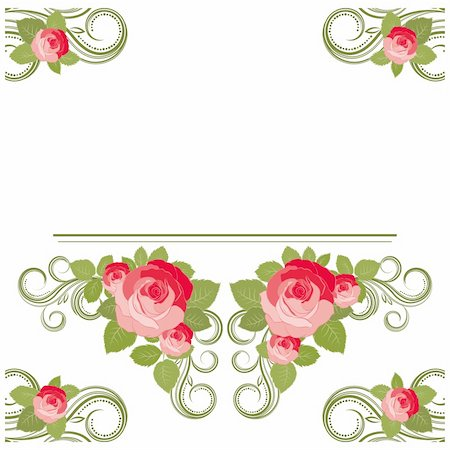 rose illustration, vector illustration -Illustration for your design Stock Photo - Budget Royalty-Free & Subscription, Code: 400-04734336