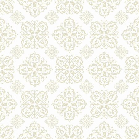Beige seamless wallpaper pattern design in brown and white Stock Photo - Budget Royalty-Free & Subscription, Code: 400-04738115