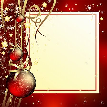christmas background, this illustration may be useful as designer work Stock Photo - Budget Royalty-Free & Subscription, Code: 400-04730382