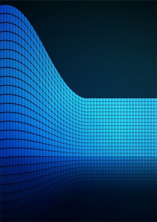 Dark Blue abstract glowing background EPS 10 vector file included Stock Photo - Budget Royalty-Free & Subscription, Code: 400-04732006