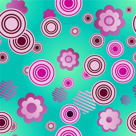 vector. seamless flower pattern  EPS 10 vector file included Stock Photo - Budget Royalty-Free & Subscription, Code: 400-04755197