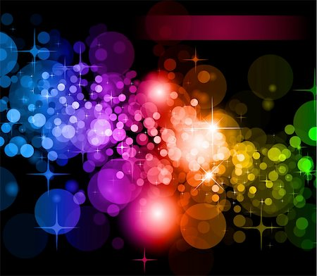 Abstract Futuristic Rainbow Lights Background for Poster of Flyers Stock Photo - Budget Royalty-Free & Subscription, Code: 400-04768582