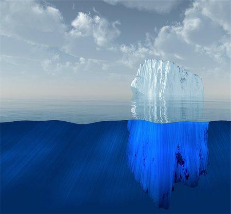 Iceberg Stock Photo - Budget Royalty-Free & Subscription, Code: 400-04763484