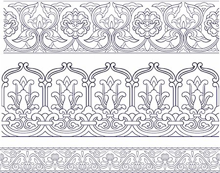 lace pattern design Stock Photo - Budget Royalty-Free & Subscription, Code: 400-04770533