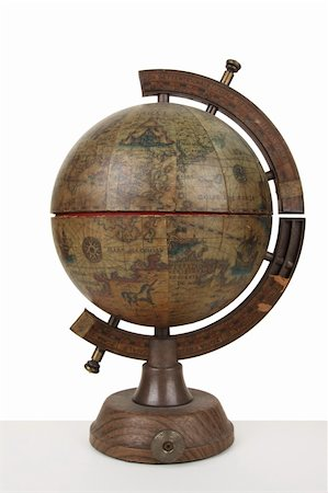 De l'Isle globe, antique model of earth. Historical Globe. Stock Photo - Budget Royalty-Free & Subscription, Code: 400-04783081