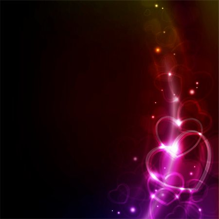 abstract valentin`s day background with hearts Stock Photo - Budget Royalty-Free & Subscription, Code: 400-04798930