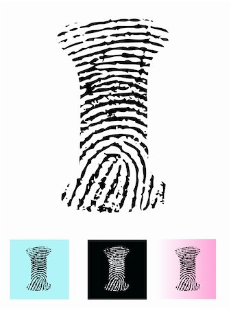 pokerman (artist) - Fingerprint Alphabet Letter I (Highly detailed Letter - transparent so can be overlaid onto other graphics) Stock Photo - Budget Royalty-Free & Subscription, Code: 400-04799331