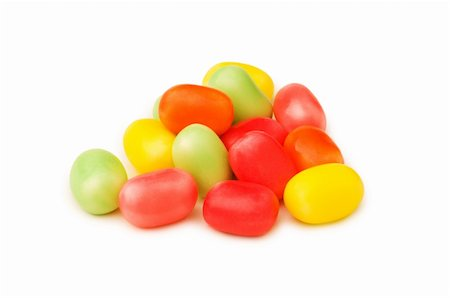simsearch:400-04344039,k - Various jelly beans isolated on the white background Stock Photo - Budget Royalty-Free & Subscription, Code: 400-04793627